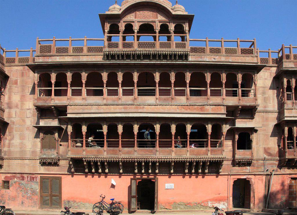 Stock Photo: 1566-979750 India, Rajasthan, Bikaner, Ratan Bihari,