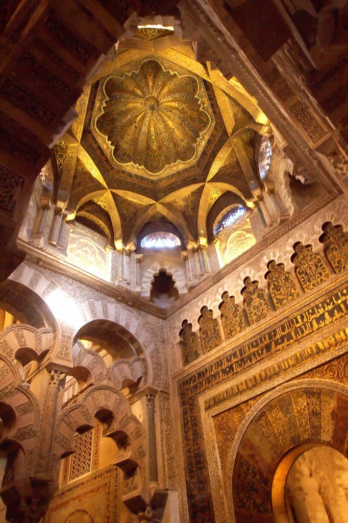 Stock Photo: 1566-980548 Cathedral of our Lady of the Assumption Great Mosque of Córdoba, Cordoba, Andalusia, Spain, Europe