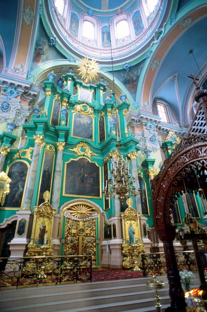 Stock Photo: 1566-980818 Lithuania, Vilnius, Holy Ghost Orthodox Church