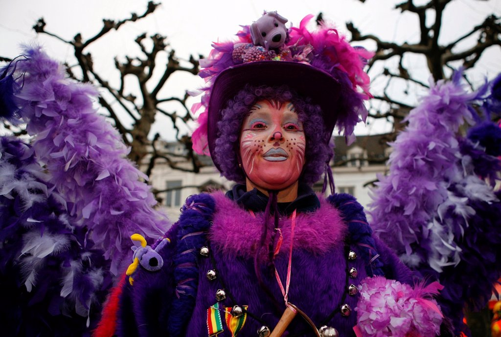 Stock Photo: 1566-981006 Carnival in Maastricht This festival is different then in other parts of Holland as there are around 100 bands playing live fanfara music in the city centre Most of the celebrations take place outside on the streets and squares During three days of celebr