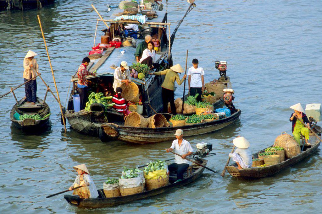 Stock Photo: 1566-981205 Vietnam Mekong Delta