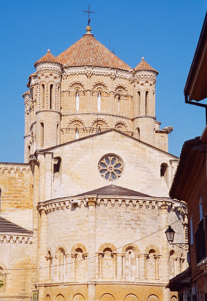 Dome and apse of the collegiate  Toro, Zamora province, Castilla Leon, Spain : Stock Photo