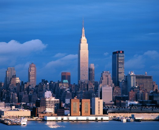 Stock Photo: 1566-983775 Empire State Building, Manhattan, New York City, USA