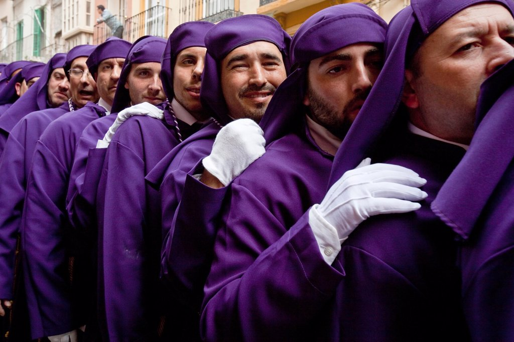 Stock Photo: 1566-984414 Semana Santa Holy Week Malaga, Andalusia, Spain