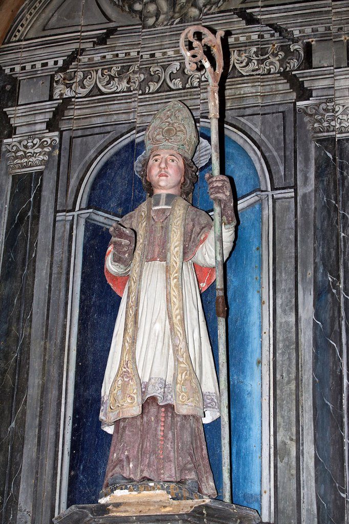 saint cado, the chapel Saint Cado, common of ploumilliau, armor Coast, brittany, France : Stock Photo