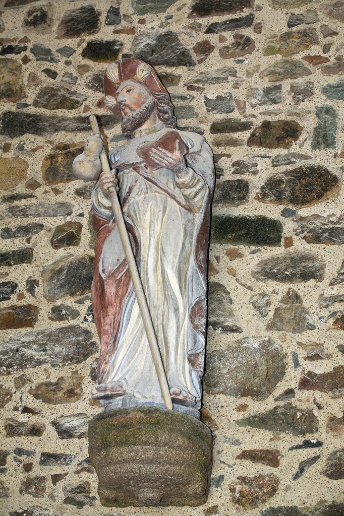 Stock Photo: 1566-985105 St Jacques major, church in perros guirec, armor Coast, brittany, France