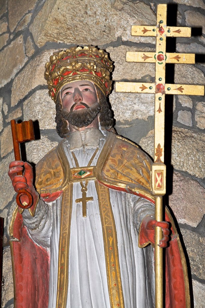 Stock Photo: 1566-985111 common of Plouagat, Saint Pierre, armor Coast, brittany, France