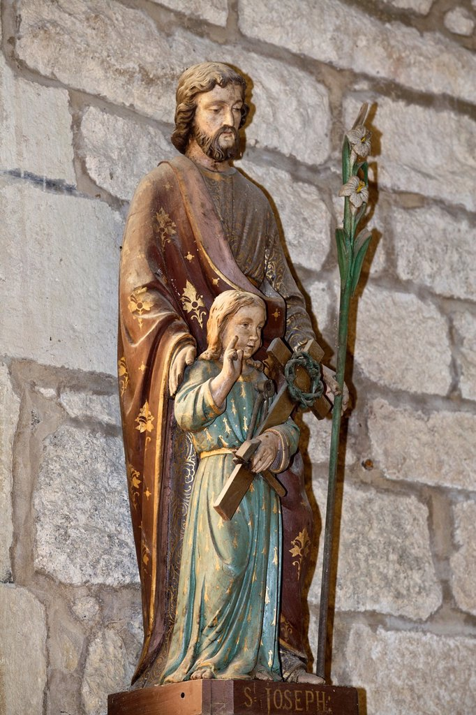 Stock Photo: 1566-985200 saint joseph, common Magoar, Coast armor, brittany, France