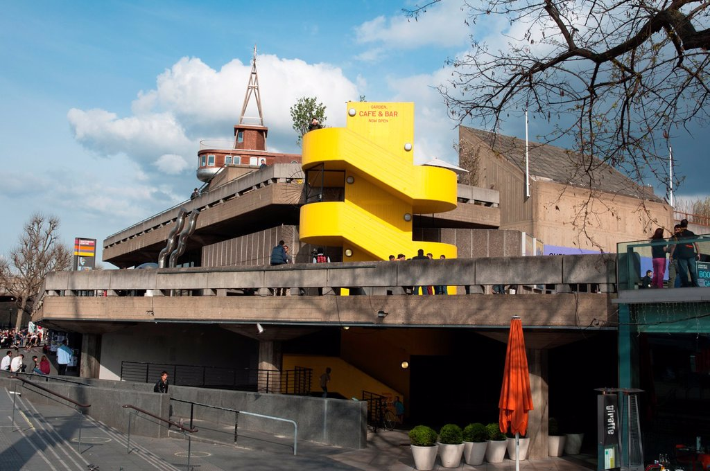 Stock Photo: 1566-985652 Southbank Centre, London, UK