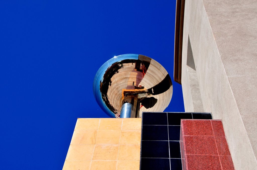 Archtectural Detail at the Boise Spectrum : Stock Photo
