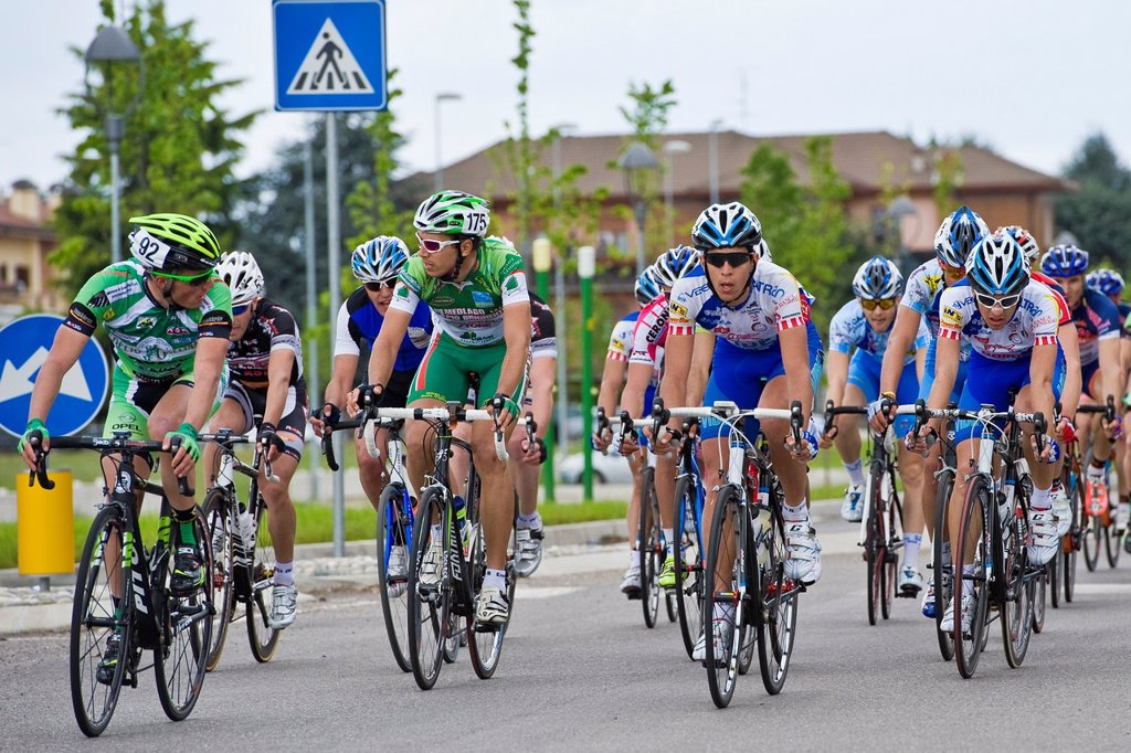 Stock Photo: 1566-986768 Bicycle race