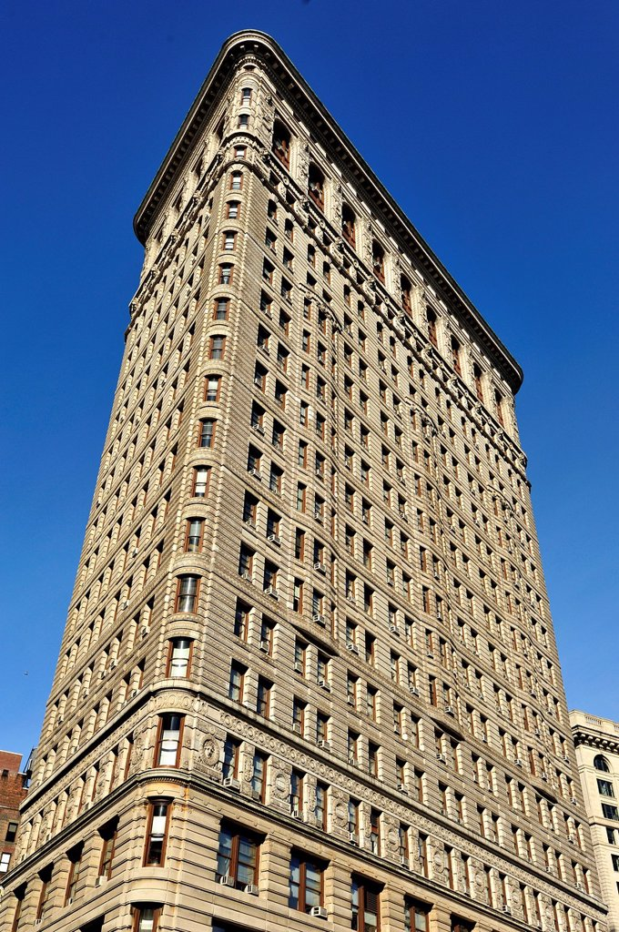 Stock Photo: 1566-987619 Flatiron Building - New York, NY
