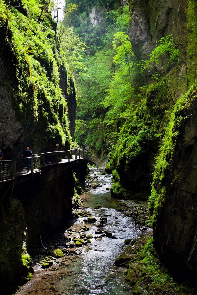 Kakueta gorges  Sainte-Engrace  Pyrénées-Atlantiques, France : Stock Photo