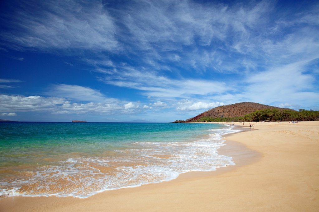Big Beach, Makena State Park, Maui, Hawaii : Stock Photo