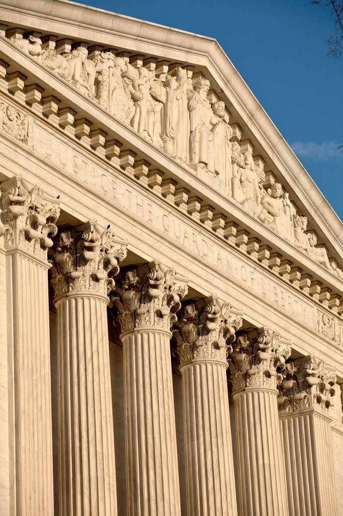 US Supreme Court, Washington D.C., USA : Stock Photo