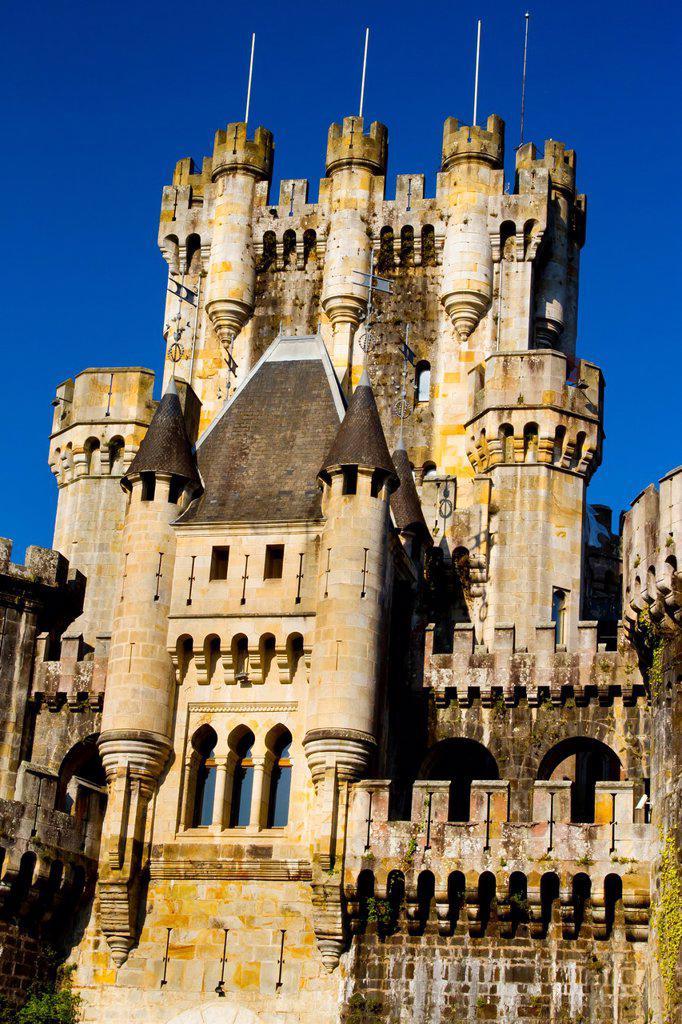 Butron castle  Gatika, Biscay, Spain : Stock Photo
