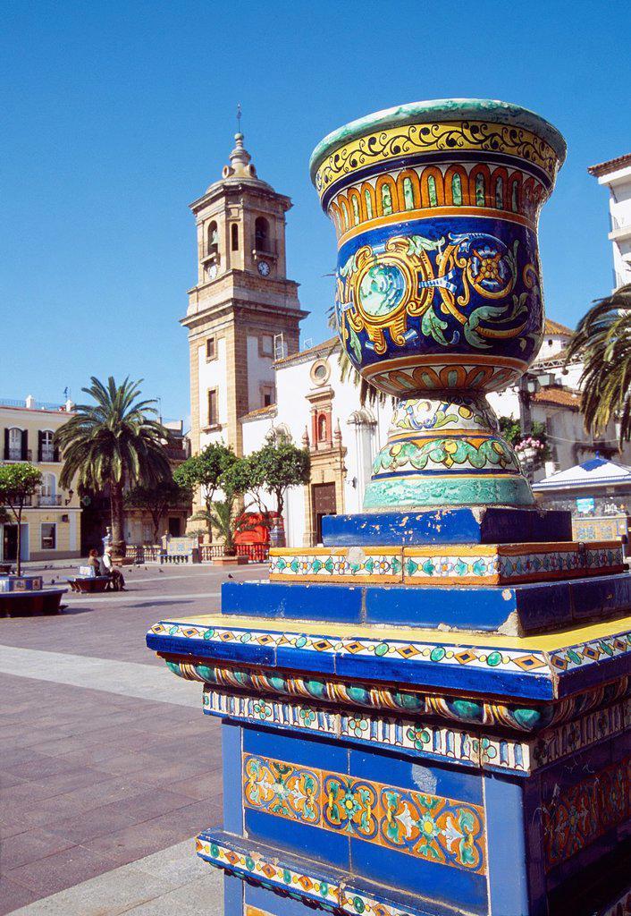 Stock Photo: 1566-992792 Plaza Alta. Algeciras, Cadiz province, Andalucia, Spain.