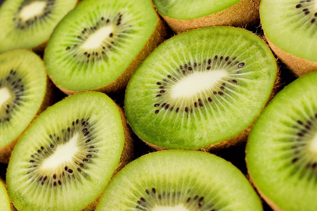 Fresh Kiwis : Stock Photo