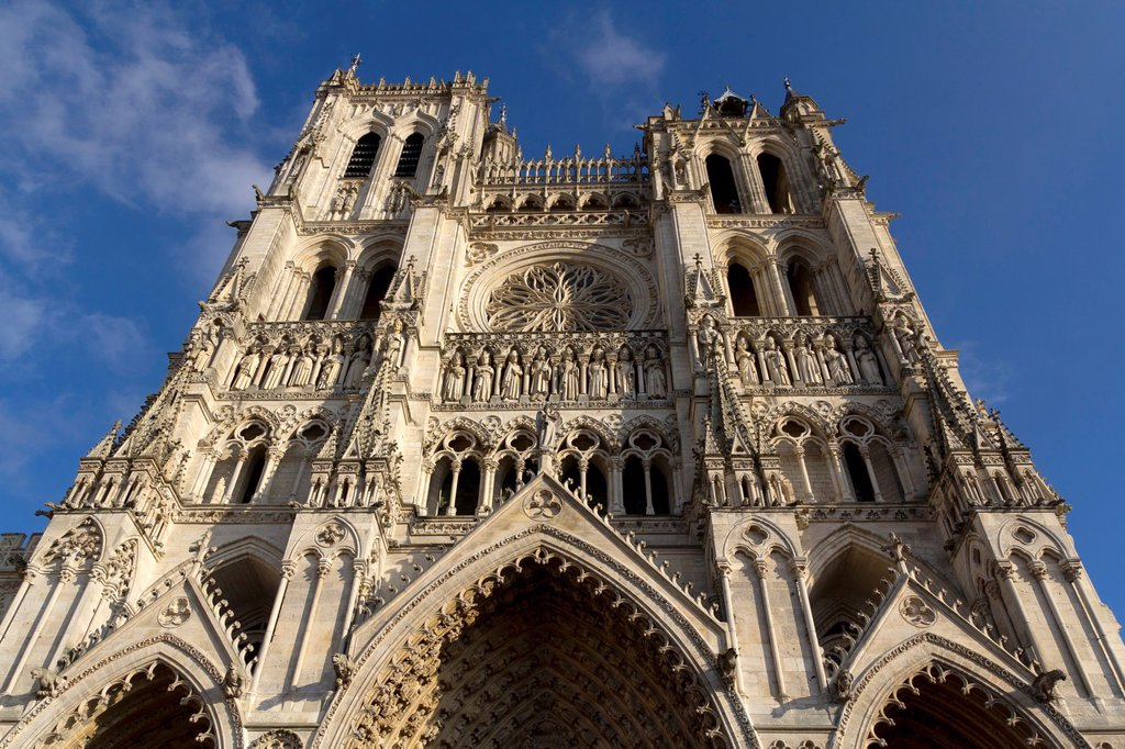 Amiens Cathedral, Picardy, France : Stock Photo