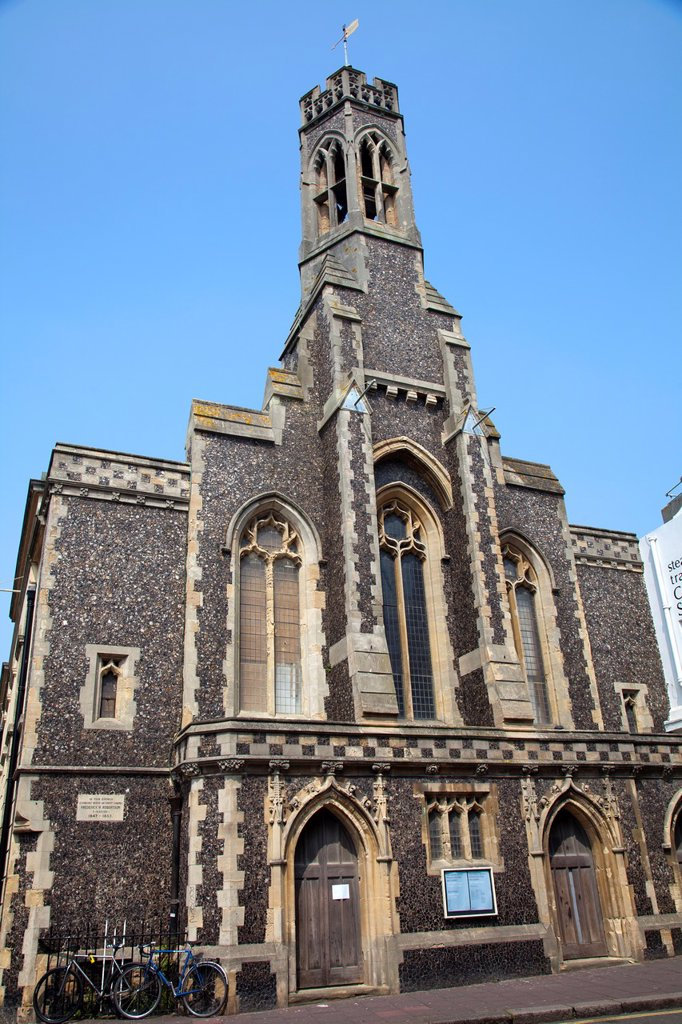 Stock Photo: 1566-994477 Holy Trinity Church, cnr of Ship and Duke Street - Brighton - UK