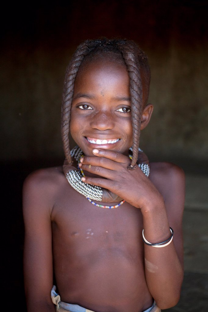 Stock Photo: 1566-997732 Himba tribe in Namibia