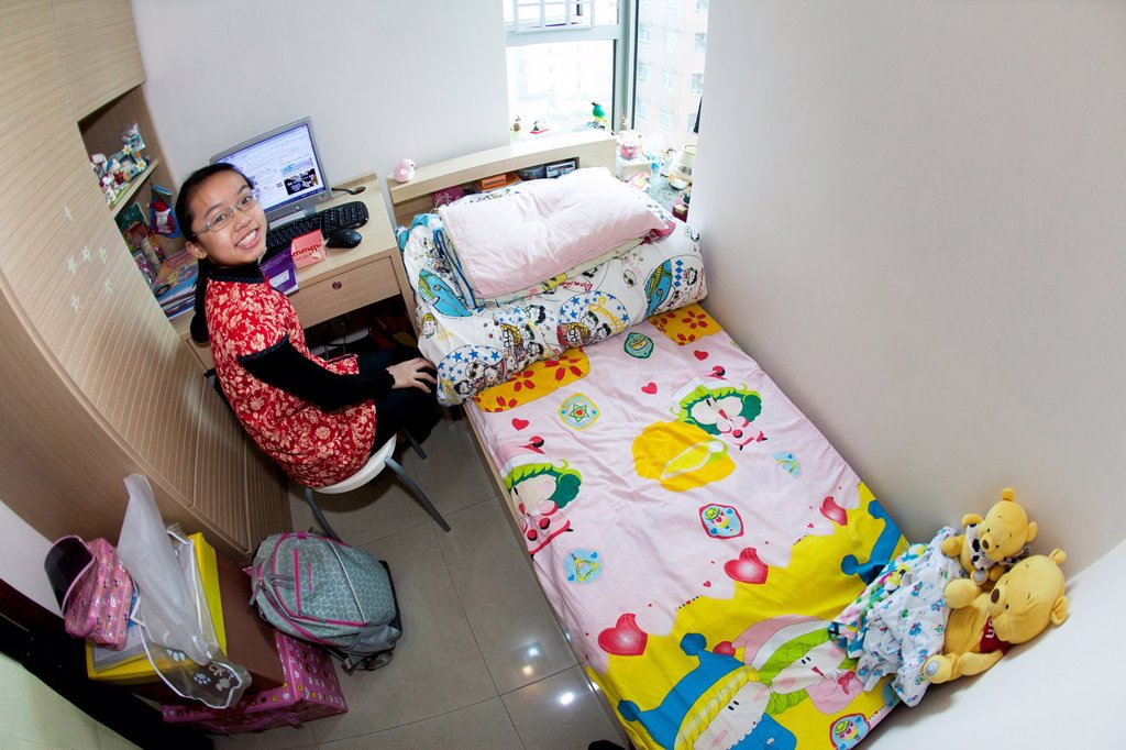 Stock Photo: 1566-998383 chinese child in Hongkong  This image is model released tungtung