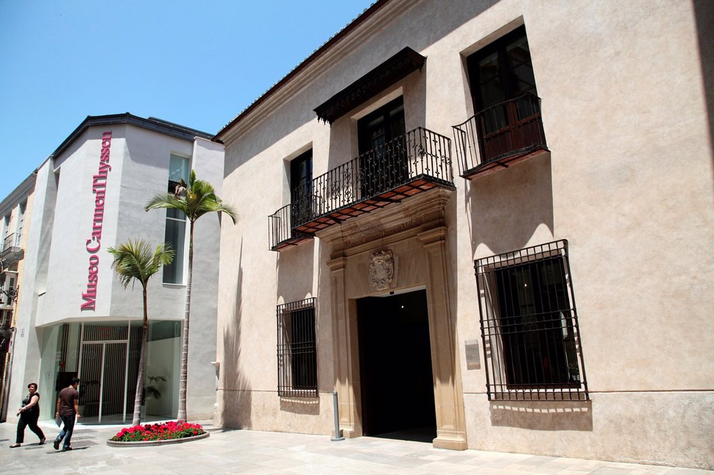Stock Photo: 1566-998910 Thyssen Museum, Province of Malaga, Andalucia, Spain