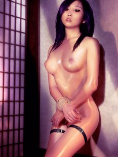 Standing At A Wall With Tied Hands Bondage Shibari Art Nude