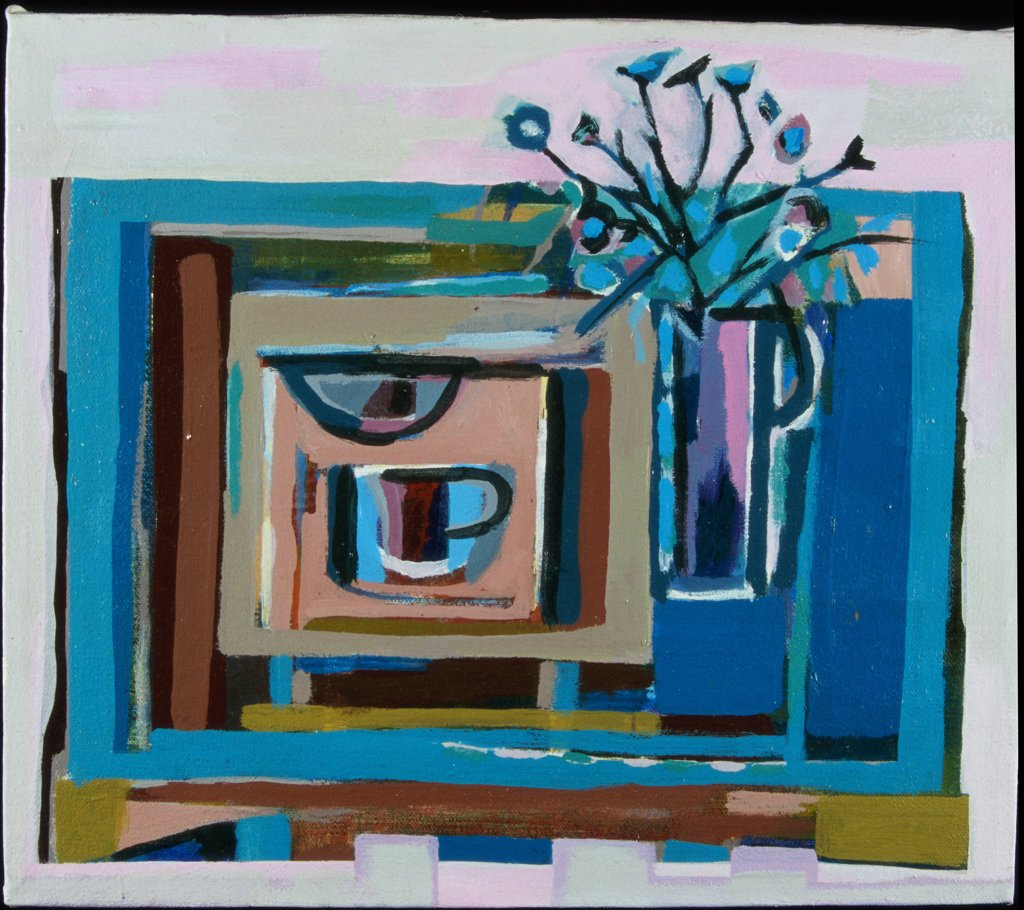 Stock Photo: 1567-107 Cottage Table 