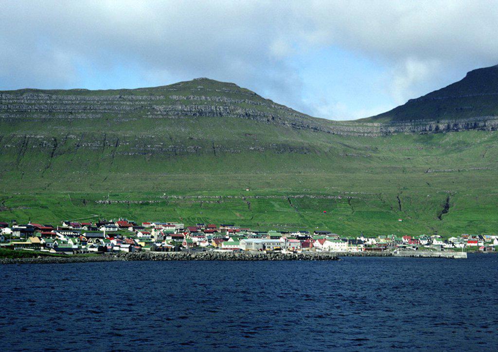 Stock Photo: 1569R-15012 Scandinavia, coastal village