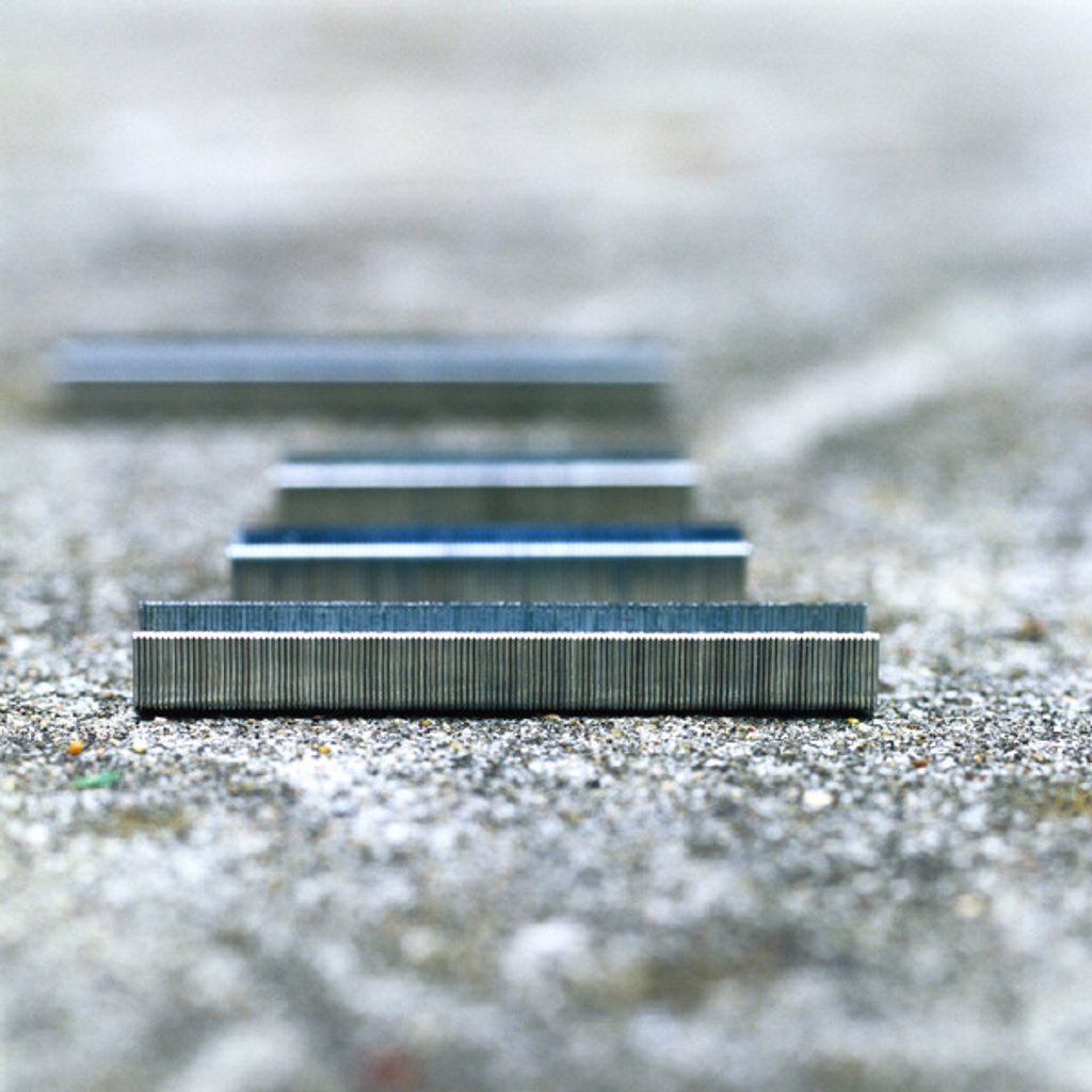 Stock Photo: 1569R-208034 Staples on ground