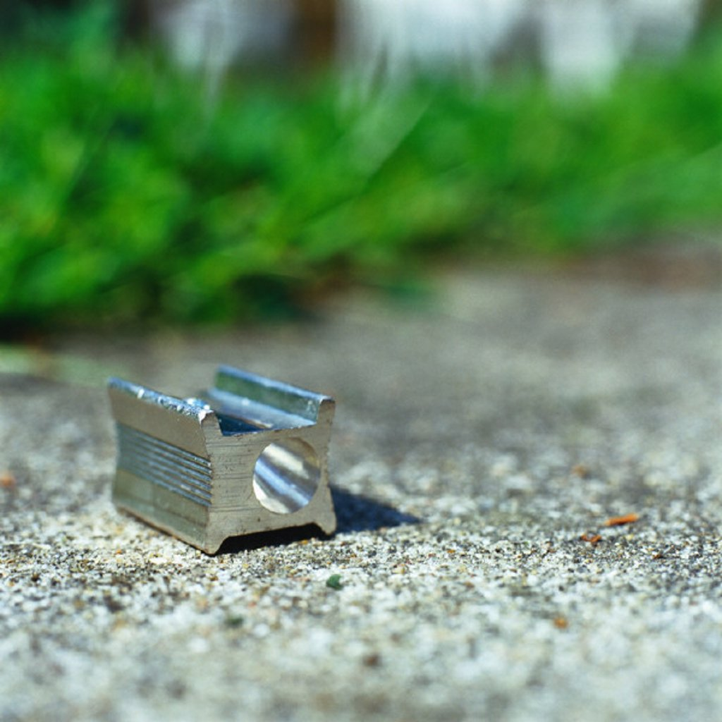 Stock Photo: 1569R-208038 Pencil sharpener on ground