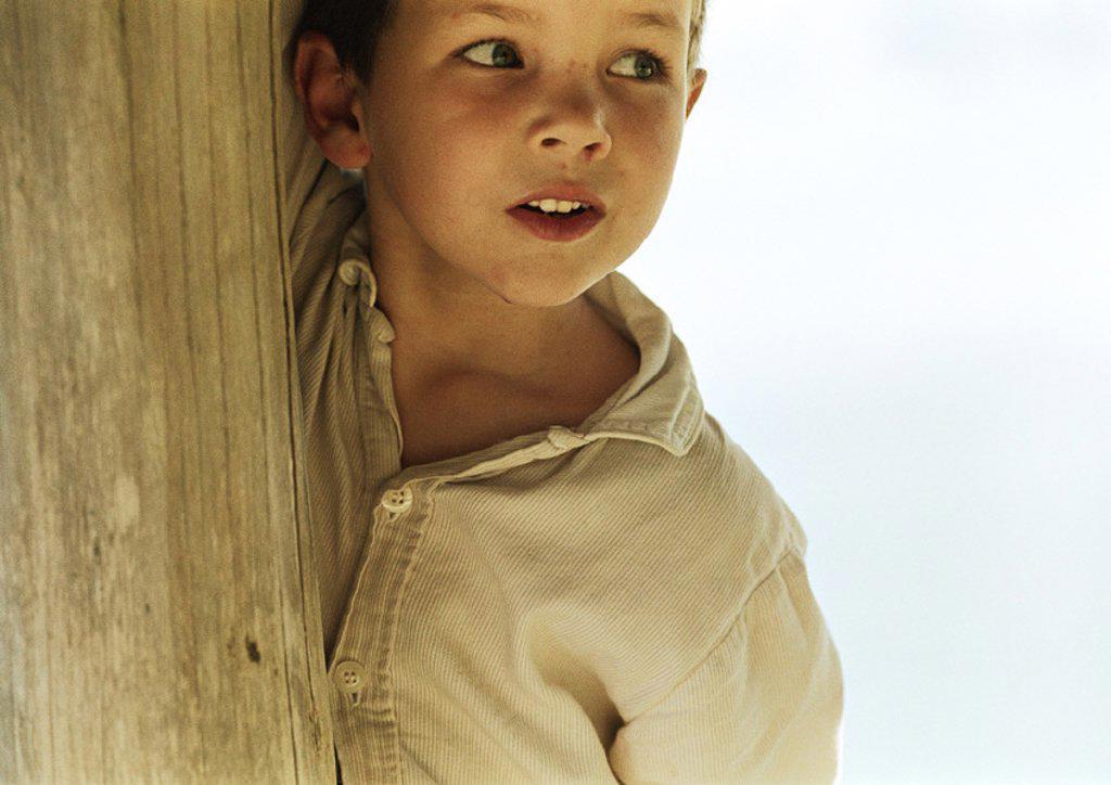 Stock Photo: 1569R-241043 Boy, portrait