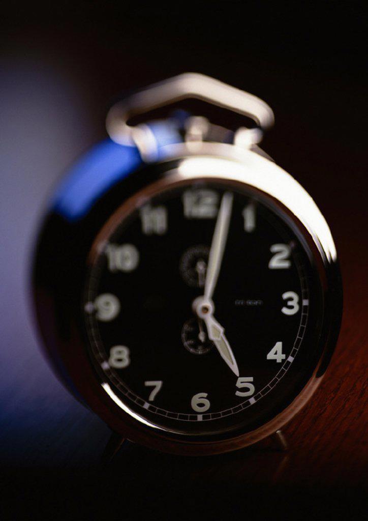 Stock Photo: 1569R-25030 Alarm clock