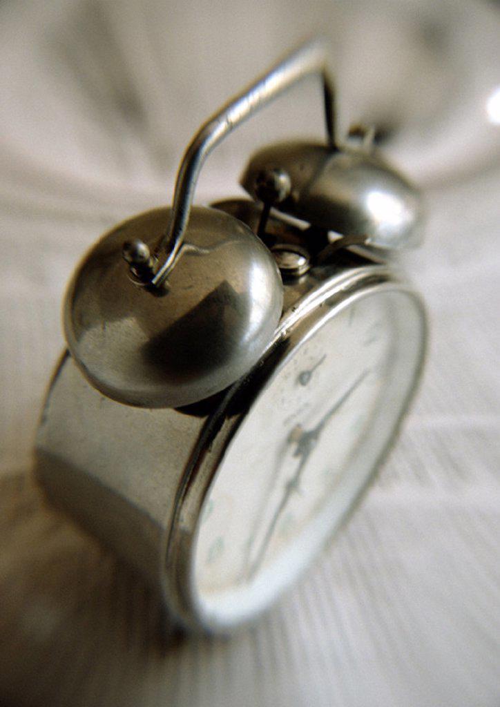 Alarm clock, close-up : Stock Photo