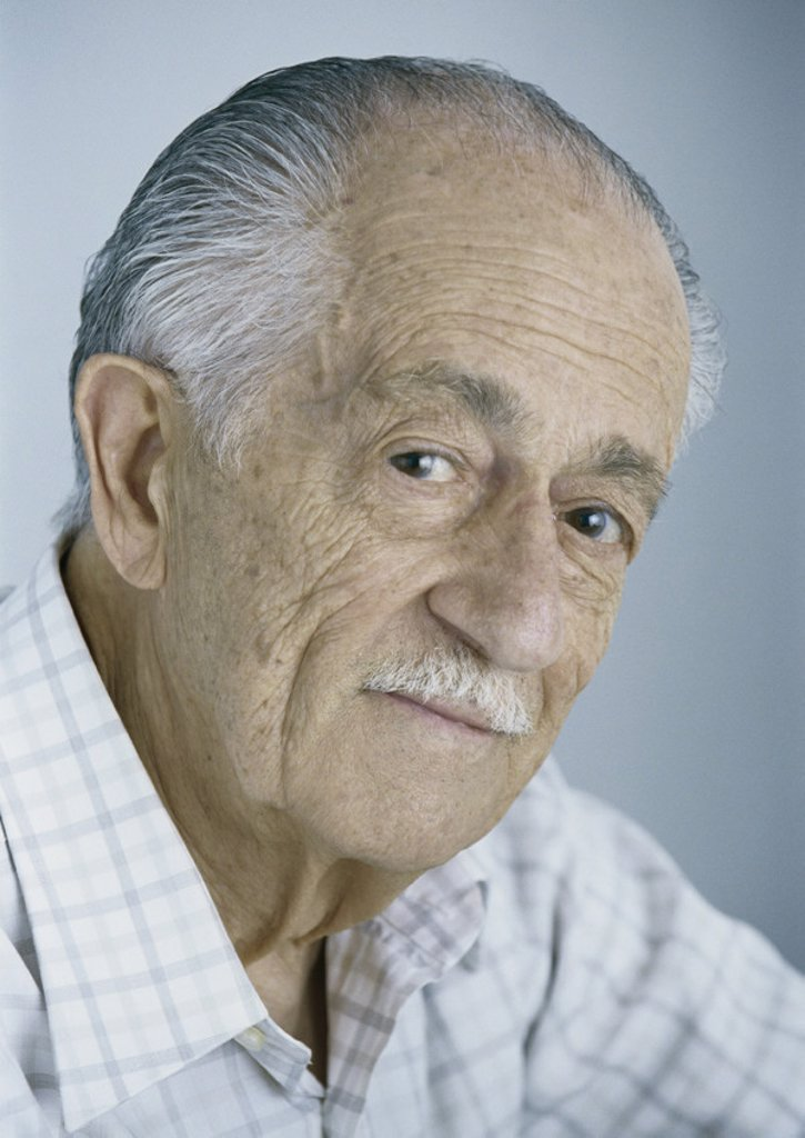 Senior man, portrait : Stock Photo