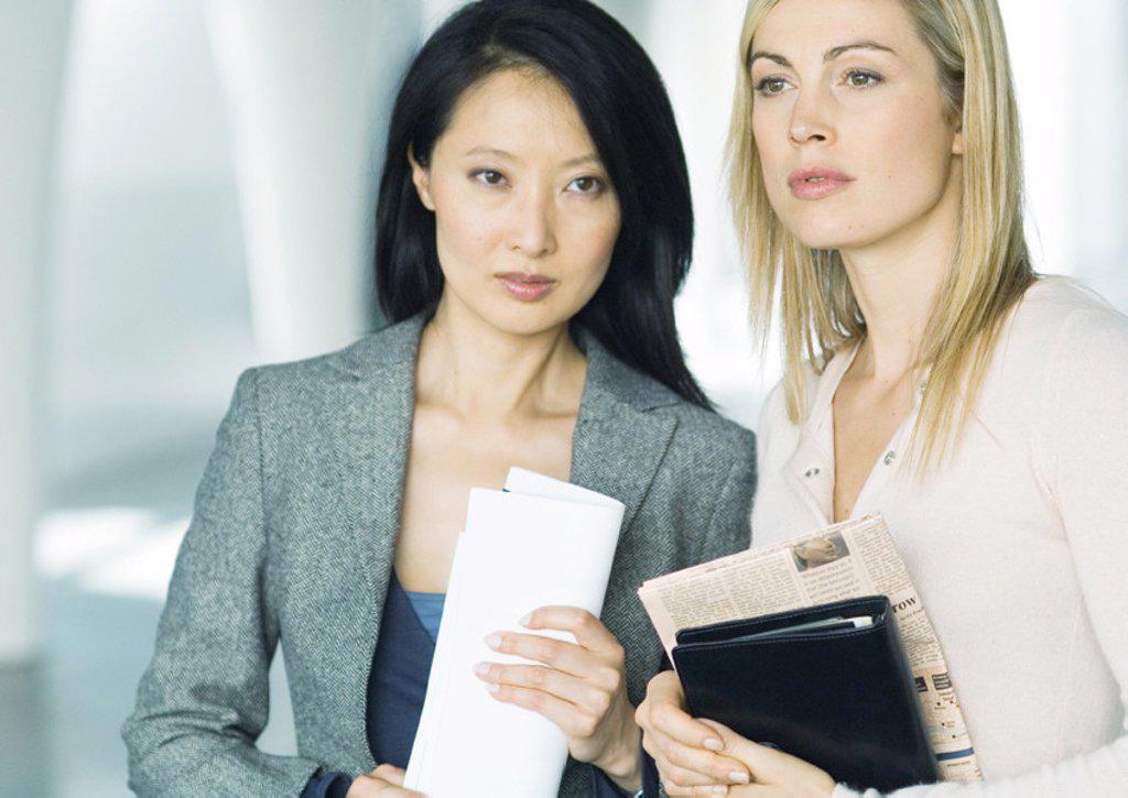 Two businesswomen : Stock Photo