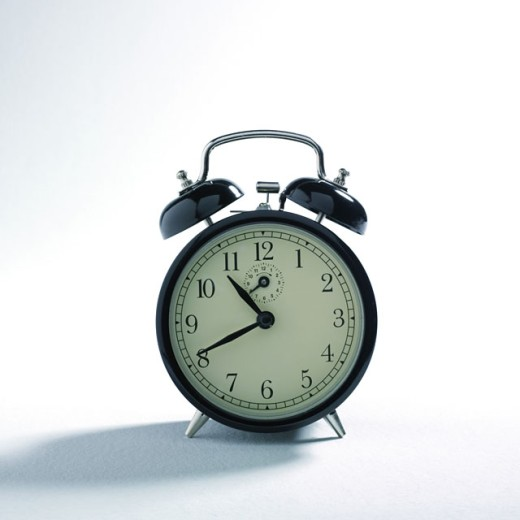 Stock Photo: 1569R-9011468 Alarm clock