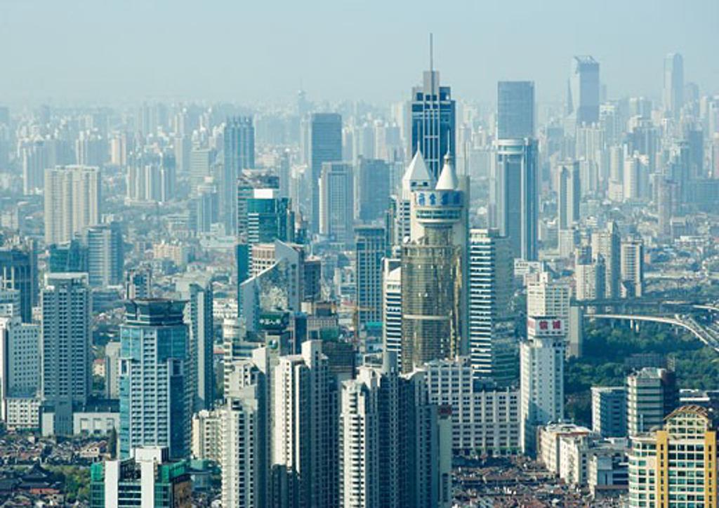 Stock Photo: 1569R-9016194 China, Shanghai, cityscape
