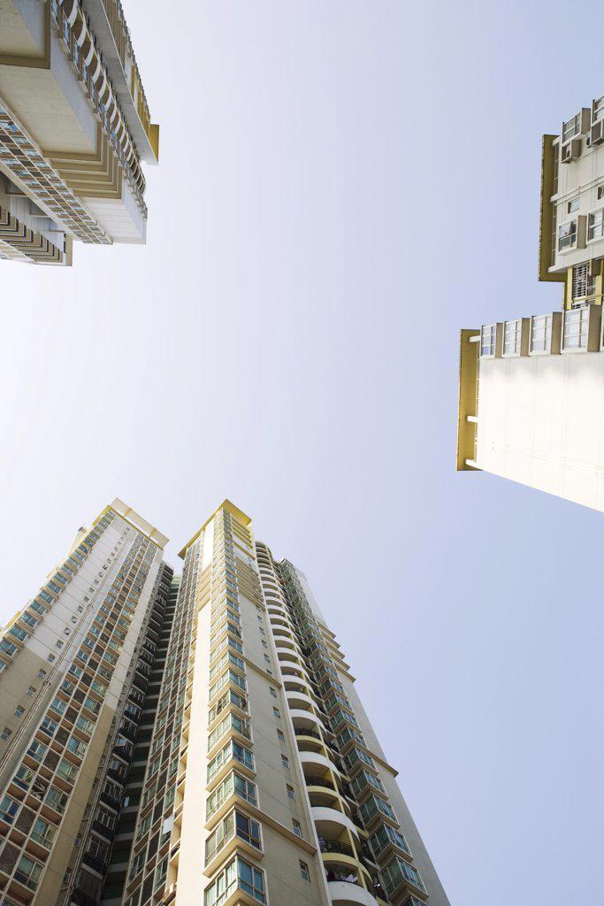 China, Guangdong Province, Guangzhou, high rises : Stock Photo