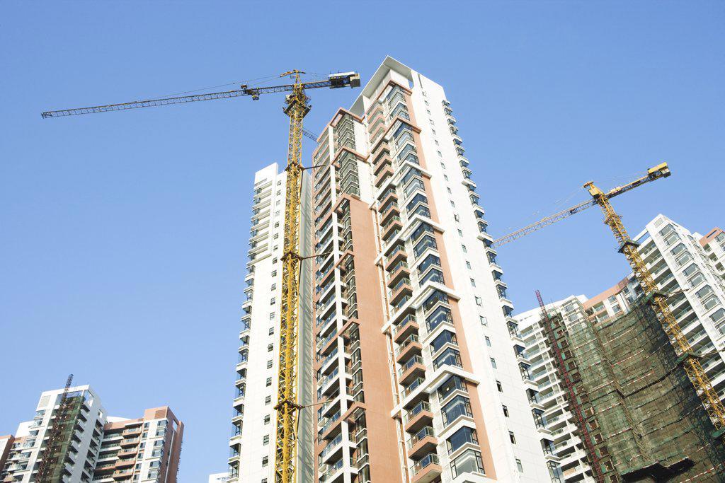 Stock Photo: 1569R-9028353 China, Guangdong Province, Guangzhou, high rises