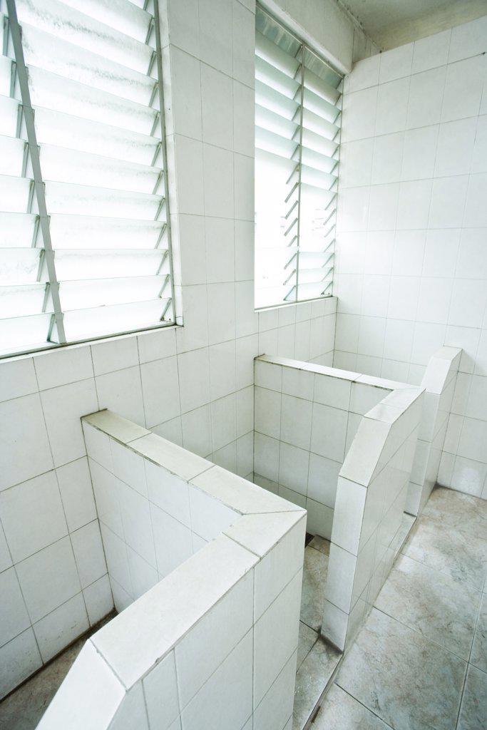Bathroom stalls : Stock Photo