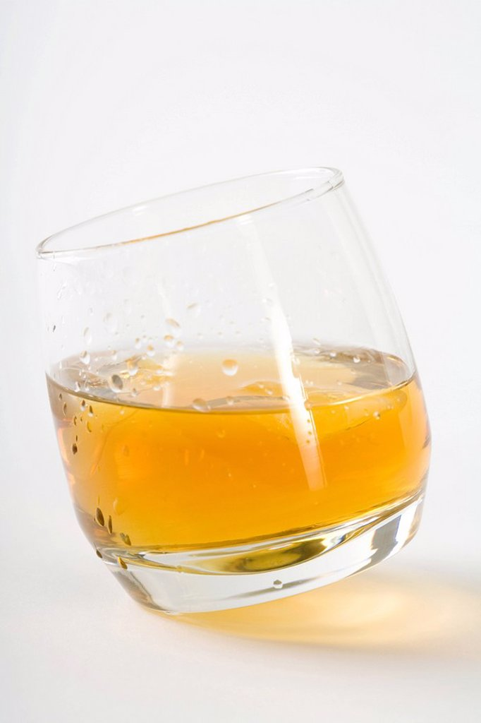 Liqueur in cocktail glass, close-up : Stock Photo