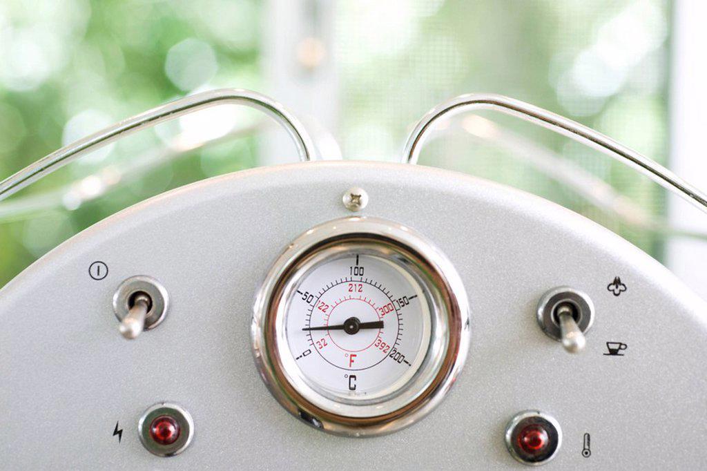 Espresso machine : Stock Photo