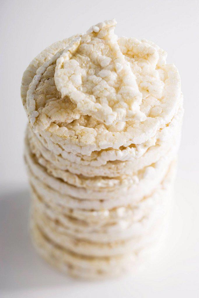 Rice cakes : Stock Photo