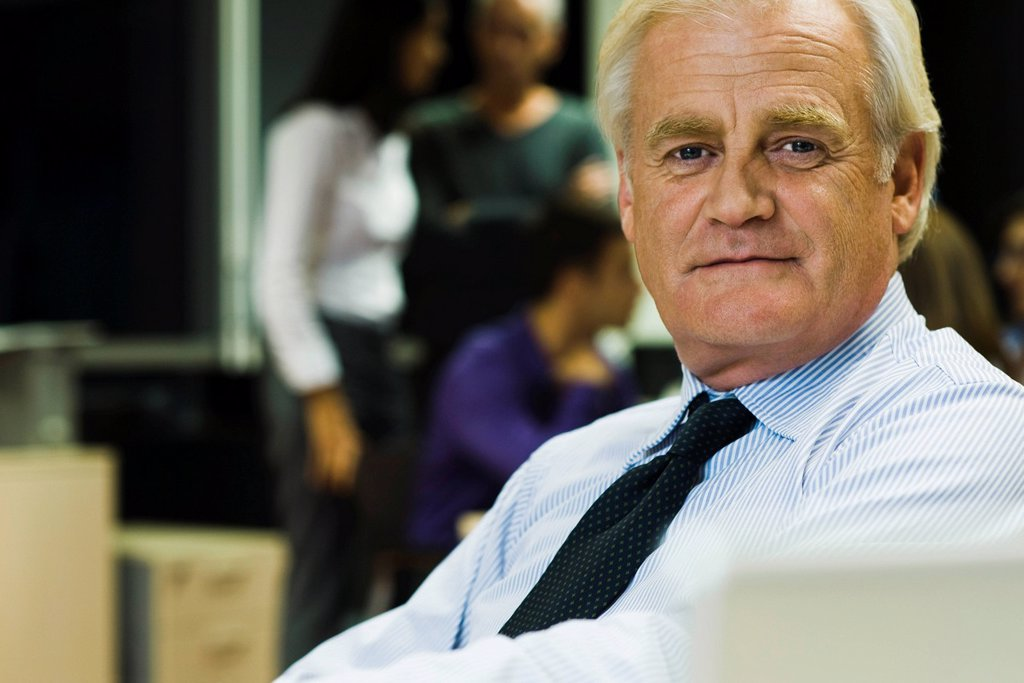 Stock Photo: 1569R-9068967 Businessman, portrait