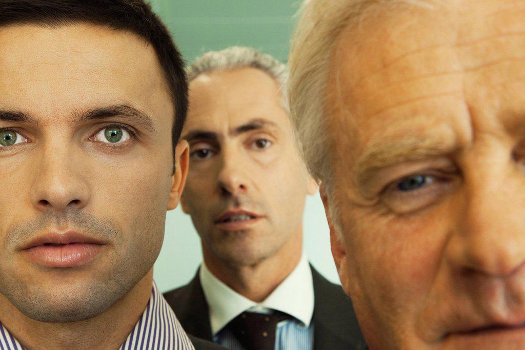 Stock Photo: 1569R-9069810 Male executives, close_up