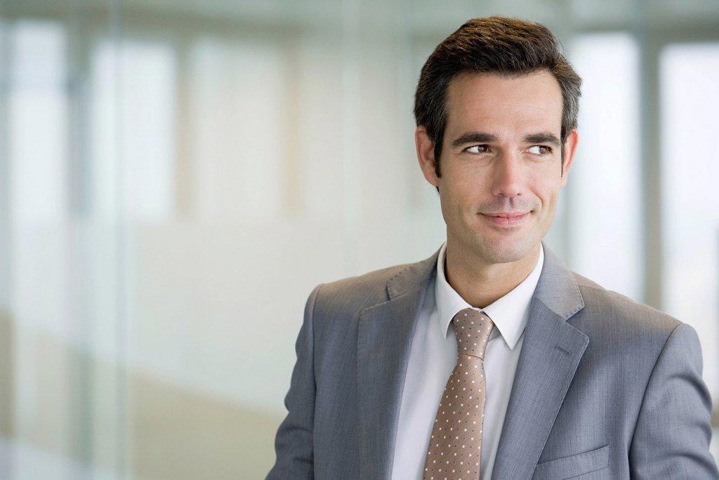 Male executive, portrait : Stock Photo