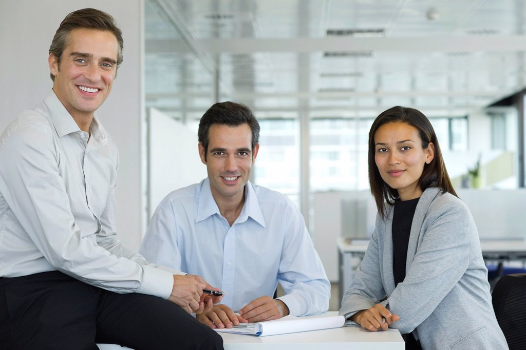 Executives, portrait : Stock Photo