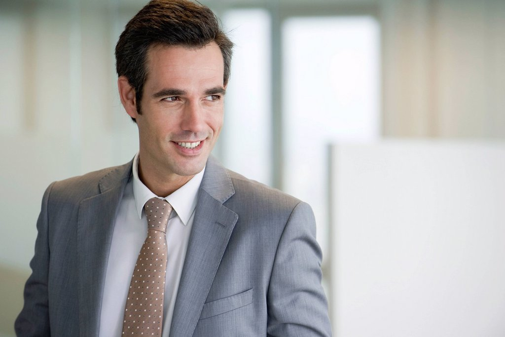 Stock Photo: 1569R-9070386 Male executive, portrait